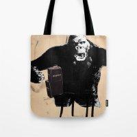 King, Kong, Kapital Tote Bag