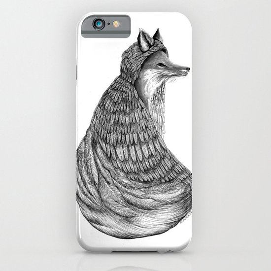 Fox- Feathered. iPhone & iPod Case