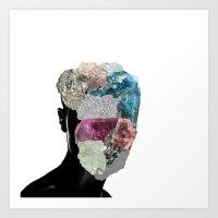 CrystalHead Art Print