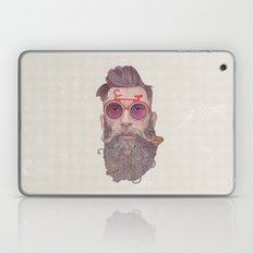 The Biker Dude Laptop & iPad Skin