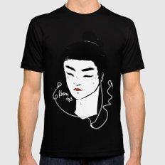 Kabuki.mp3 Mens Fitted Tee SMALL Black