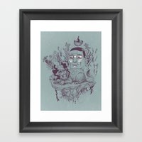 Inner Beast Framed Art Print