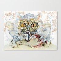 Persian Immortal Cat Canvas Print