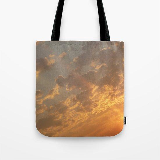 Sun in a corner Tote Bag