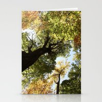 Fall Canopy - Woodland T… Stationery Cards