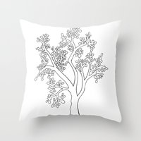 Solo Tree Throw Pillow