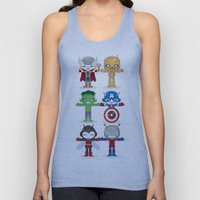 THE ORIGINAL AVENGER'S ROBOTICS Unisex Tank Top