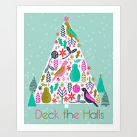 Christmas Tree By Andrea… Art Print