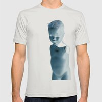 Mannequin Mens Fitted Tee Silver SMALL
