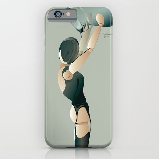 PAINTED BLACK iPhone & iPod Case