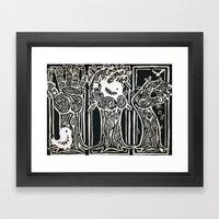Nesting Ground Framed Art Print