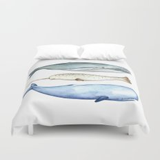 S'whale Duvet Cover