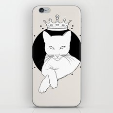 Who's The Queen iPhone & iPod Skin