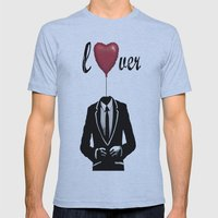 lover Mens Fitted Tee Athletic Blue SMALL