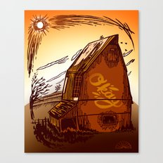 Ole Barn Canvas Print
