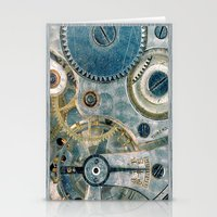 iPhone Gears Stationery Cards