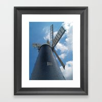 Waltham Mill Framed Art Print