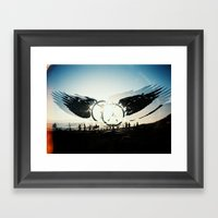 Fly High To The Sky Anal… Framed Art Print