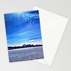 Seattle Lake Landscape Stationery Cards