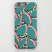 80s leaf pattern iPhone 6 Slim Case