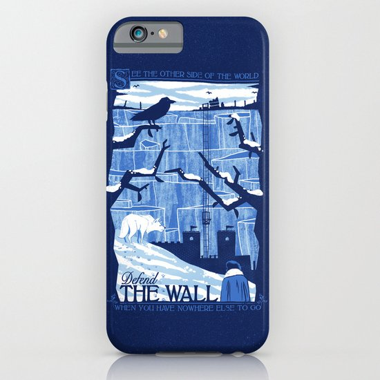 Defend the Wall iPhone & iPod Case