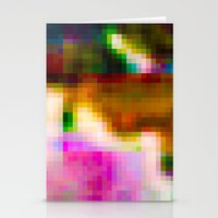 Glitch 003 Stationery Cards