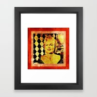 Marilyn M Framed Art Print