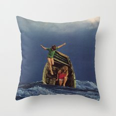 TUMULT Throw Pillow