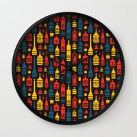 Drinks on the House Wall Clock