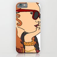 iPhone & iPod Case featuring Shady Lady by Mars Attacks Design