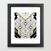 Marker Tribe Framed Art Print