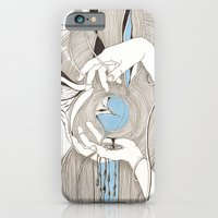 Small blue thing iPhone 6 Slim Case