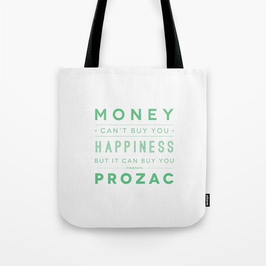 Prozac Nation Tote Bag