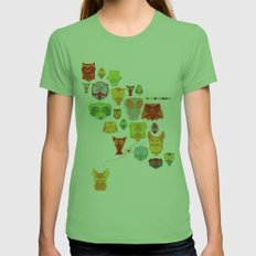 True Love Womens Fitted Tee Grass SMALL