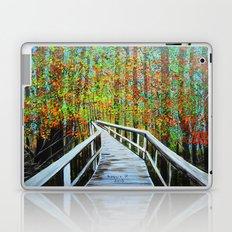 Walkway  in the woods  Laptop & iPad Skin