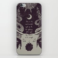 The Lightning-Filled Night iPhone & iPod Skin