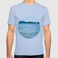 Nautical Porthole Study No.4 Mens Fitted Tee Athletic Blue SMALL
