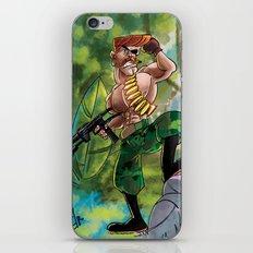 Going Commando iPhone & iPod Skin