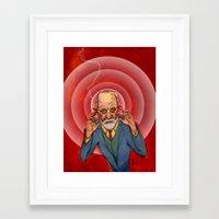 Herr Doktor Framed Art Print