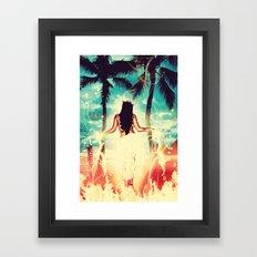 Hawaiian Pele Framed Art Print