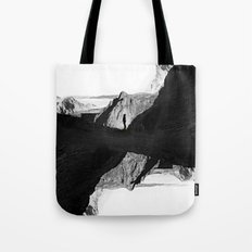 Man of isolation Tote Bag