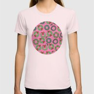 Christmas 07 Womens Fitted Tee Light Pink SMALL