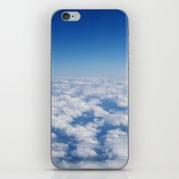 Blue Sky White Clouds Co… iPhone & iPod Skin