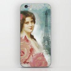 J'adore Paris II iPhone & iPod Skin