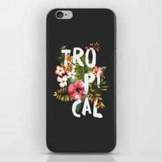Tropical II iPhone & iPod Skin