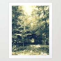 Enter Into Magic Art Print