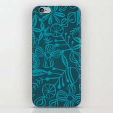 wild and natural - turquoise iPhone & iPod Skin