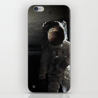 Sad story about a chimp in space iPhone & iPod Skin