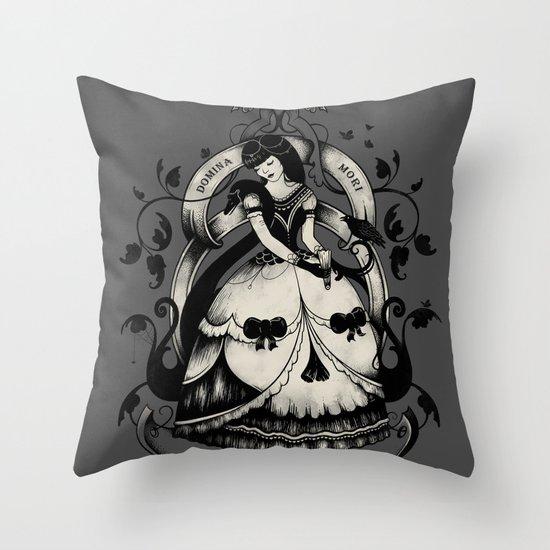 Domina Mori Throw Pillow
