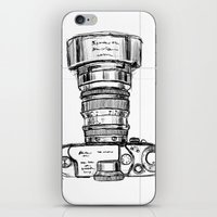 Fresh Sketch - Zoom In iPhone & iPod Skin